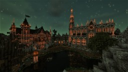[Æonis] - Mortremer - Gothic Church and Guild Hall Minecraft Map & Project