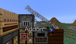 💮 Programmer Art Default+ Addon (1.14) (Discontinued for now) Minecraft Texture Pack