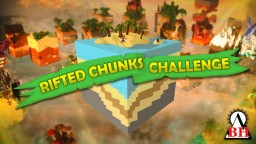 Rifted Chunks Challenge Custom Fantasy Survival Map (Minecraft Marketplace). Minecraft Map & Project