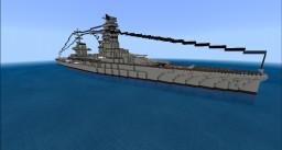 crusero de batalla japones IJN himiko/ Japanese battlecruiser himiko Minecraft Map & Project