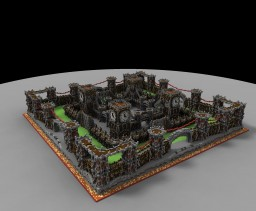 Castle Spawn Minecraft Map & Project