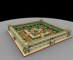 Desert Fortress Minecraft