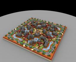 Desert Village [KOTH] Minecraft Map & Project