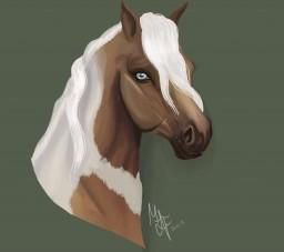 painting - Horse | Malia Minecraft Blog Post