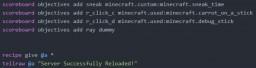 A datapack for datapack stuff like right click detection etc. 1.13+ Minecraft Data Pack