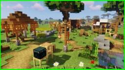 Minecraft 1.14 Villager Outpost !! (Minecraft Timelapse) + (WORLD DOWNLOAD) Minecraft Map & Project