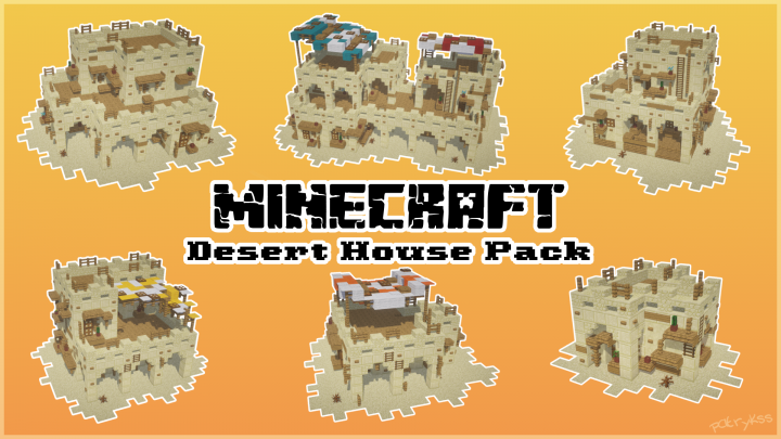 Popular Project : [Schematic] Desert House Pack by patrykss