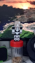 PMC Skin 3D download photocopying paper model Minecraft Blog Post