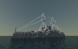 Battleship Mikasa/三笠号战列舰 Minecraft Map & Project