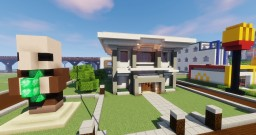 City Bank Minecraft Map & Project