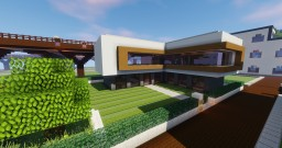 Modern Real State Agency Minecraft Map & Project