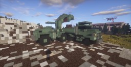 Military M917 Dump Truck and DL250 Wheel-Loader Minecraft Map & Project