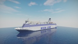 Silja Line M/S Wellamo (1986) Minecraft Map & Project