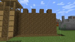 Wood wall Minecraft Map & Project