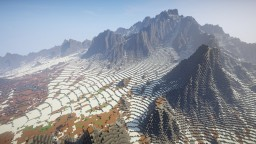 Snowy Montain Minecraft Map & Project