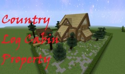 Country Log Cabin Property Minecraft Map & Project