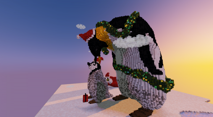 Popular Server Project : Baby Penguin Gets a Surprise