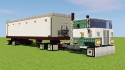 Peterbilt Cab-Over Semi Truck Minecraft