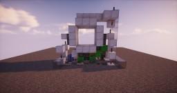 3x3 clean piston door Minecraft Map & Project