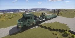 Oshkosh M1070F (British Army) + King GTS 100 Trailer Minecraft Map & Project