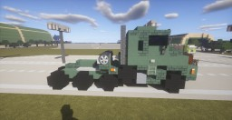 Army Oshkosh M1070 + M1000 Transporter + M1A2 Abrams Tank Minecraft Map & Project