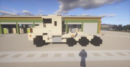 Military Oshkosh M1070 + M1000 Transporter + M1A2 Abrams Tank Minecraft Map & Project