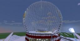 Snow Globe Ride park Minecraft Map & Project