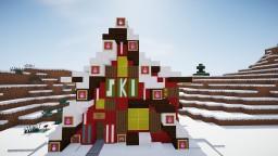 Ski Rental Shop Part of my Christmas Village Build set Minecraft Map & Project