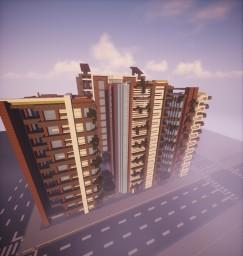 SubZiro [Modern City] V 0.22 [ALPHA] Minecraft Map & Project