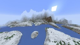 The Frozen River Island Minecraft Map & Project