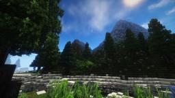 Mountain Landscape Minecraft Map & Project