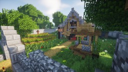 Log Cabin / House with TimeLapse Minecraft Map & Project