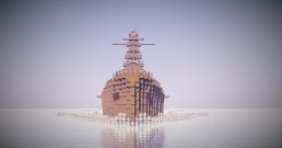 IJN Battleship Nagato (1924) Minecraft Map & Project