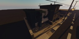 blue house Minecraft