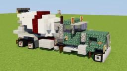 Peterbilt Concrete Mixer Truck Minecraft
