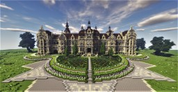 Victorian Chateau - Rosegold (+Interior) Minecraft Map & Project