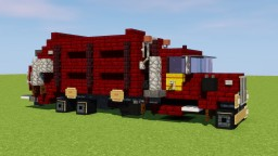 Autocar Garbage Truck Minecraft Map & Project
