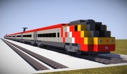 Virgin Pendolino Class 390 Minecraft Map & Project