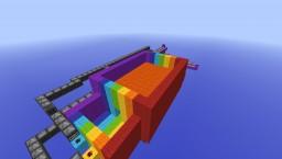 Rainbow Road Minecraft Map & Project