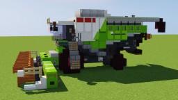 Claas Combine Harvester Minecraft