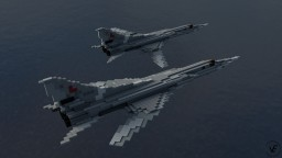 Tupolev Tu-22M3 Backfire-C | Scale: 1,5:1 Minecraft