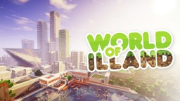 World of ILLAND. METROPOLIS Minecraft
