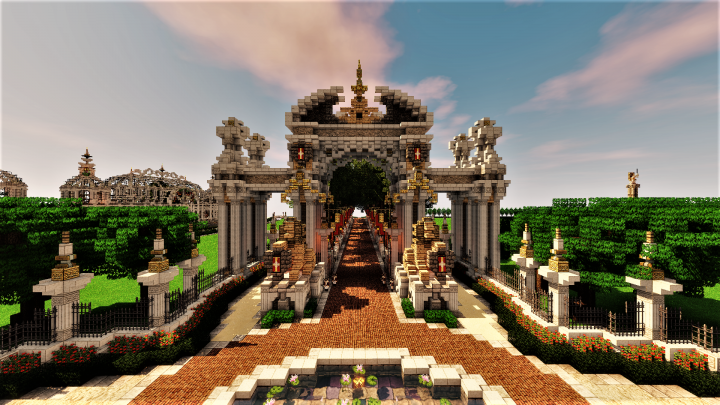 Popular Server Project : [Æonis] Arc de l'Entrée Triomphale | Triumphal Arch