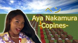 Aya Nakamura - Copines/Minecraft Bloc musical Couverture Minecraft Map & Project