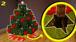 How To Make A Christmas Tree Stand | Christmas Special Part 2/6 Minecraft