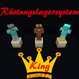 Rüstungslagersystem Minecraft Map & Project
