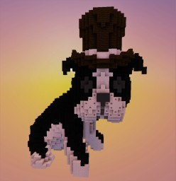 Doggy With a Top Hat Minecraft Map & Project