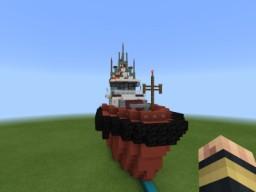 Powerful Ship Tug Boat #1 Minecraft