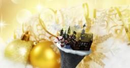Christmas Skywars Lobby Minecraft Map & Project