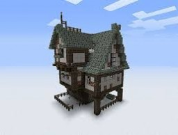 Small Medieval Hut Minecraft Map & Project